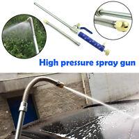Für Garten Bewässerung Hochdruckpistole Wasser Jet Power WashSpray Düse+Schlauch