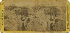 Lawrence & Houseworth stereoview (1860's) Pressure Box, Yuba County, California