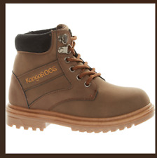KangaROOS Boys Boots White//Brown