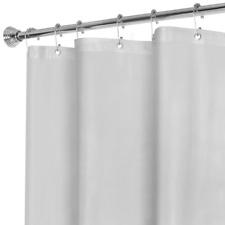 MAYTEX Super Heavyweight Premium 10 Gauge Shower Curtain Liner with Rustproof 72