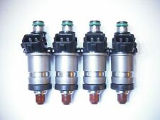 Set of Four ( 4 ) Flow Matched Refurbished IPT Fuel Injectors for Honda Acura