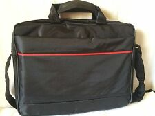 "15"" 15.4"" 15.6"" Laptop Notebook Carry Bag Case Pouch Shoulder Strap Black"