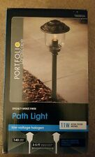 Lot Of 5 NEW Portfolio 11Watt Specialty Bronze Low Voltage Path Light EL0420PBR