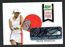 Akiko Morigami #NP-AM1 signed autograph auto 2013 Ace Authentic National Pride