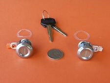 DOOR LOCKS (2) FOR DAIHATSU CHARADE MIRA DELTA + JACKAROO RODEO + SIERRA ALTO