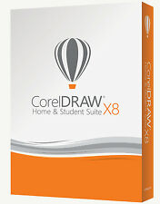 CorelDRAW Home and Student Suite X8 PC UK SELLER