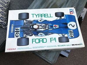 Tamiya model Kit Tyrrell  Elf Ford F1(Very Rare)!
