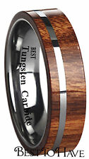 Wooden Tungsten Rings for Men