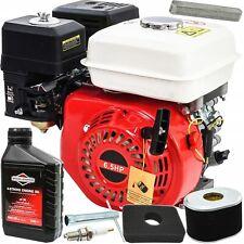 6,5 PS Benzinmotor Ölbadkupplung Standmotor 196 cc Kart Motor 20mm Motor 4-Takt