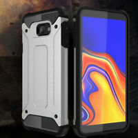 For Samsung Galaxy J4 /J6 Plus 2018 Hybrid Armor Hard Shockproof Skin Case Cover