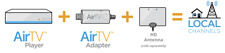 Air TV Player 4K Streaming Media Player With Adapter