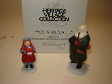 Dept 56 Cic Accessory - Yes, Virginia.
