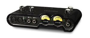LINE 6 UX2 POD STUDIO AUDIO INTERFACE SOUND CARD USB BUS POWERED