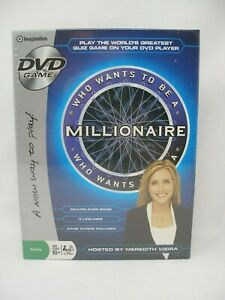 Imagination: WHO WANTS TO BE A MILLIONAIRE DVD GAME (NEW IN BOX)
