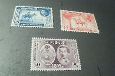 Iraq stamps # 130-2 MNH 1949 set cv 16.00