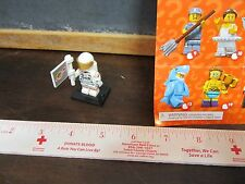 LEGO minifig minifigures series 15 astronaut  space moon rocket flag helmet toy