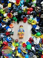 LEGO Parts - X30 minifigure wearables, hats, helmets hair +more! Mix bulk pack