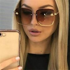 Beautiful Designer Oversized Square Celebrity Large Women Sunglasses /w Gradient