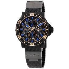 Ulysse Nardin Maxi Marine Diver Black Seal Automatic Mens Watch