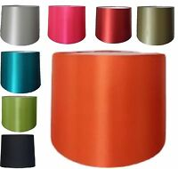 """Modern Ceiling Pendant Light 10"""",12"""" Empire Drum Silk Fabric Table Lampshade New"""