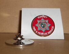 Surrey Fire and Rescue Service Lapel pin badge
