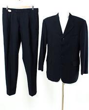 strellson Anzug Gr. 50 Wolle Sakko Hose Business Suit Jacket Pants