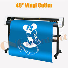 "Wide Format Vinyl Cutter 48"" Cutting Drawing Plotter Redsail RS1360C & Artcut"