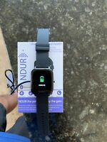 NDUR Iphone android blue tooth smart watch with heart rate monitor ECG analysis