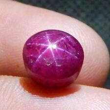 5.9 cts  Natural Unheated & Untreated Star Ruby Nice Top Rays Star L#126-127