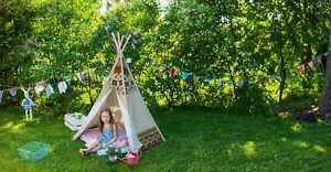 Achoka Tepee Indian Wigwam Large Play Tent (GK_Z1)