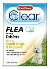 BM Clear Flea Tablets for Small Dogs, Puppies & Cats (3Tabs) - 21071