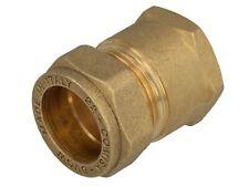 MS-Klemmringverbinder für Kupferrohr, Muffenverschraubung mit Gewinde, DVGW