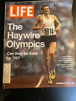 Life Magazine September 22 1972 The Haywire Olympics