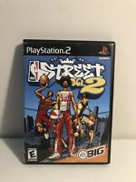 NBA Street Vol. 2 Black Label, Complete CIB, Tested PS2 PlayStation 2 Free Ship