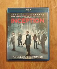 Inception (2010) Like New 3-Disc Blu-ray + DVD Leonardo DiCaprio, Tom Hardy