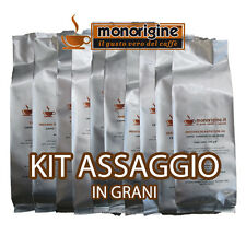 Caffè grani Kit assaggio 8 x 250 gr- Caffè in grani Monorigine offerta sconto