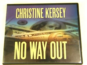 No Way Out by Christine Kersey (2005 Audiobook 4 CD's) Suspense Novel LDS Mormon