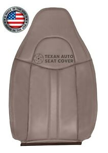 1997 - 2002 Chevy Express 1500 2500 3500 Van Driver Lean Back Seat Cover Tan