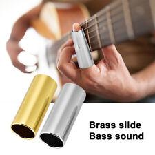 2 Pcs Brass Guitar Slides for guitar, banjo, ukulele stringed instrument