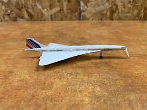 VINTAGE CORGI TOYS CONCORDE AIR FRANCE F-BVFA METAL PLANE nose issue