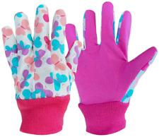 3 Pairs Soft  Comfortable Design for Kids Gardening Gloves,Yard Garden Work Glo