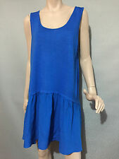 Womens Sz 18 Autograph BRAND Shappire Sleeveless Stretch Tunic Top
