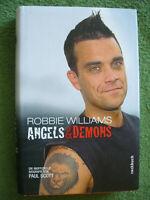 Robbie Williams.Angels & Demons. Rockbuch von Paul Scott (2003, Gebunden)