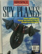 Air & Space Smithsonian Summer 2016 Spy Planes Pilots & Drones FREE SHIPPING
