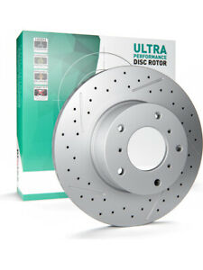2 x Protex Ultra Performance X-Drilled Bra… Rotor FOR FORD ESCAPE BA (PDR504HXS)