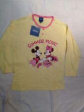 Disney - pigiama solo la maglia con Topolino e Topolina - Taglia M/L - 7 anni