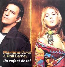 Marlène Duval & Phil Barney CD Single Un Enfant De Toi - France (VG+/EX)