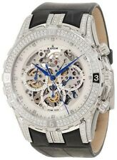 Edox Mens 95002 3D NAD Grand Ocean Swiss ETA 2824 Chrono Skeletal DIAMOND Watch