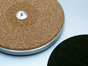 THORENS TURNTABLE MAT 45RPM ADAPTOR CUTOUT from Xad