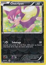 Chacripan Reverse-Noir&Blanc:Pouvoirs Emergents-64/98-Carte Pokemon Neuv France